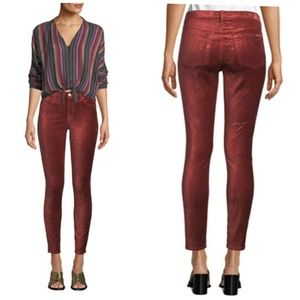 7 For All Mankind | NWT The Ankle Skinny velvet